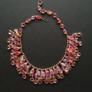 Gorgeous Drippy Alice Caviness Necklace (Unsigned)